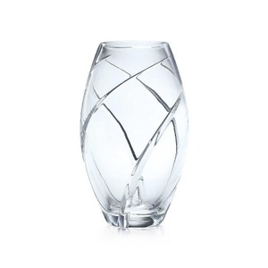 New Swirl-cut Elliptical Vase