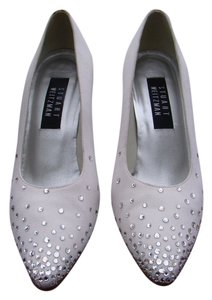 Stuart Weitzman Lovely Wedding Heel WHITE Formal