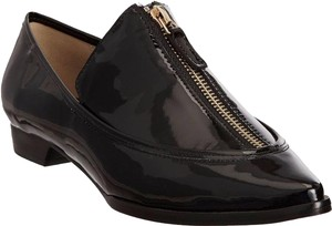 Derek Lam Black Patent Leather Pointed Toe Oxfords Flats