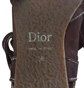 Dior Chocolate brown Boots