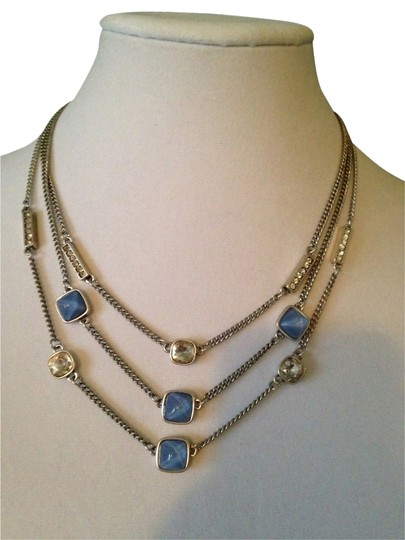 Preload https://item4.tradesy.com/images/kenneth-cole-light-blue-and-crystal-faceted-bead-multi-row-necklace-2021488-0-0.jpg?width=440&height=440