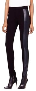 Club Monaco Women's Black Rochelle Faux-leather Legging