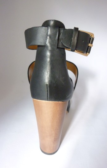 Dolce Vita Ankle Strap Black Leather Sandals
