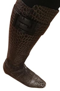 Versace Alligator Fall brown Boots