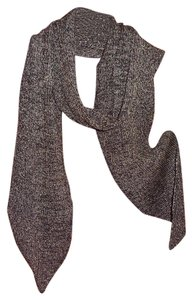 Eileen Fisher nwt Fisher Wool Blend Metallic Scarf