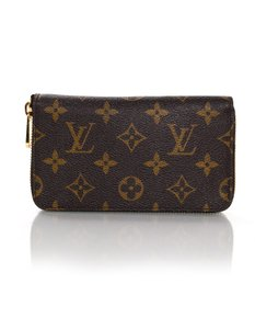 Louis Vuitton Louis Vuitton Monogram Compact Zippy Wallet