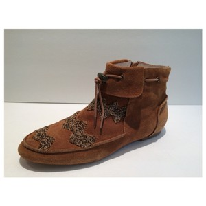 House of Harlow 1960 Cognac Boots