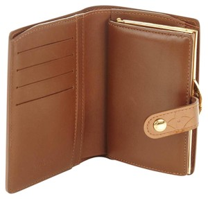 Louis Vuitton French Bronze Vernis Kisslock Bifold Wallet with Coin Pocket France