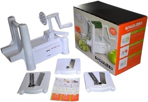 Aarcho Kitchen Kitchen-Spiralizer-Tri-Blade-Spiral-Slicer