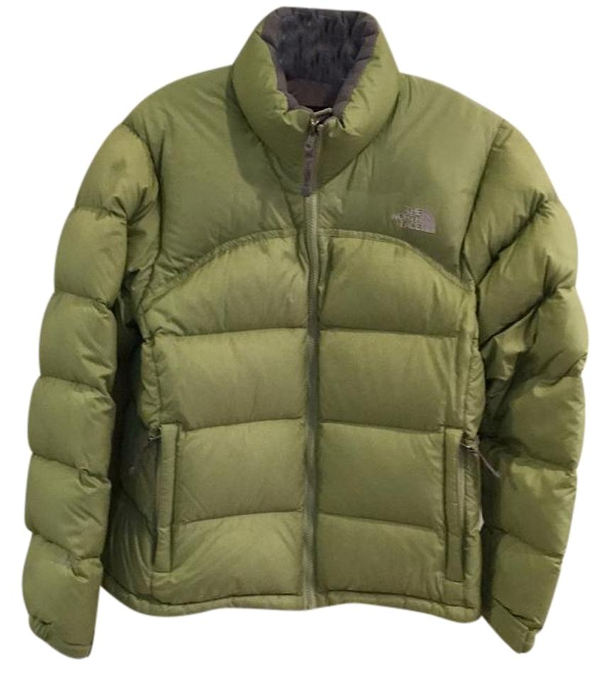 0d33ca128a The North Face Apple Green Coat Size 10 (M) - Tradesy