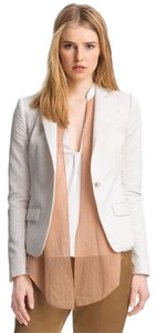 Elizabeth and James White Jacket Suits Blazer