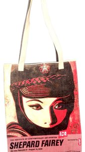 Levi's Tote in Red/black/ivory/blue