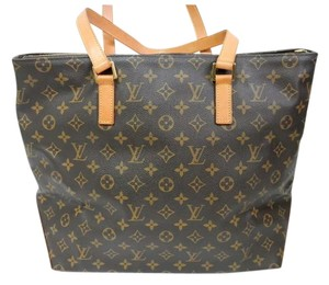 Louis Vuitton Cabas Alto Cabas Neverfull Tote in Brown