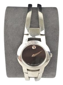Movado Movado Silver Cutout Band Watch