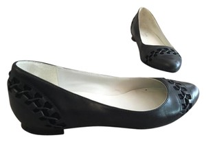 Cole Haan Pointed Toe Flat Black Flats