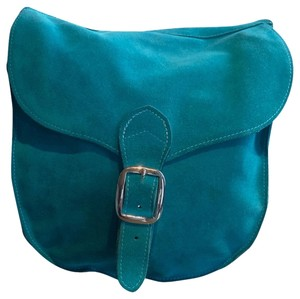 Divine Touch Suede Geniune Summer Spring Cross Body Bag