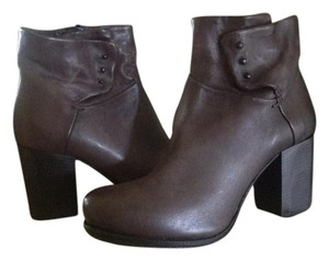 A.S. 98 Grey/Stone Leather Ankle Moto Dk Grey/Stone Boots