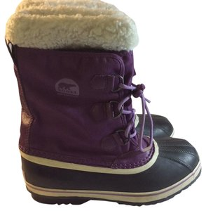 Sorel Purple/blk Boots