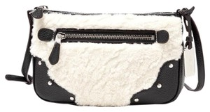 Coach Pebble Leather Black 36490 Cross Body Bag