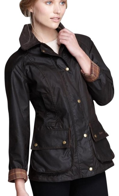 Item - Black Beadnell Coat Size 6 (S)