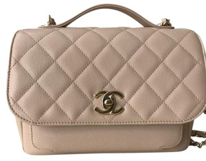 Chanel Business Affinity Caviar Flap Cross Body Bag