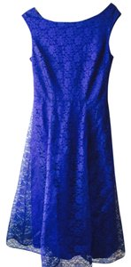 Betsey Johnson short dress Blue Royal on Tradesy