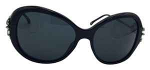 Chanel Stunning Black Bow Chanel Sunglasses 5178 c.501/3F 58