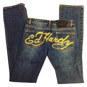 Ed Hardy Boot Cut Jeans