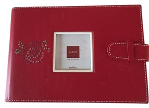SOLOW RED 4X6 WALLET PICTURE (36) HOLDER FOR MOTHERS/GRANDMOTHERS