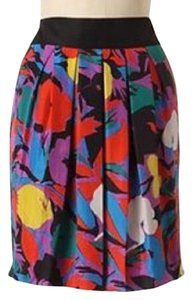 Anthropologie Mini Skirt Red, Blue, Black, Green, Purple, Yellow