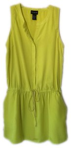 Central Park West short dress Yellow Day Mini on Tradesy