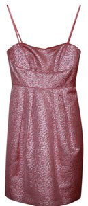 BCBG Max Azria Evening Fun Pink Shimmer Dress