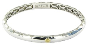 Tacori Tacori 18k925 City Lights Classic Bangle Bracelet Polished Sterling 925