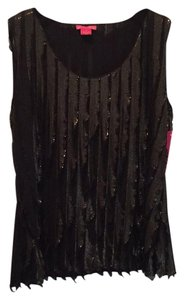 Sunny Leigh Top Black, gold