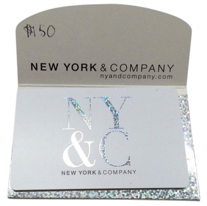 New York & Company NEW YORK & COMPANY $150 GIFT CARD