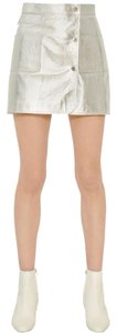 Courreges Mini Skirt Silver