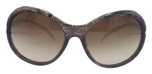 Chanel Brown and Gold Wing Chanel Sunglasses 5152 c.1123/3B 58