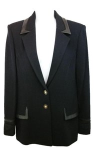 St. John Black Jacket Blazer