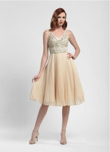 Sue Wong Champage N4136 Dress