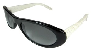 Chanel Signature - Black with White Quilted Leather, Sunglasses