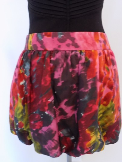 1c8c12a72c3141 Trina Turk Multi Colored Bubble Mini W/pockets Size 2 Mini Skirt lovely
