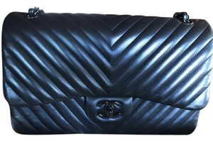 Chanel Matte Lambskin Shoulder Bag