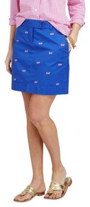 Vineyard Vines Whales Mini Mini Skirt Blue