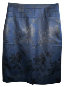 H&M Skirt Blue & Black