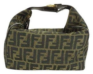 Fendi Belt Buckle Monogram Ff Zucca Hobo Bag