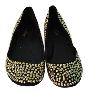Candie's Gold Flats