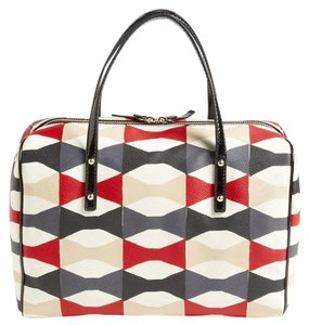 Kate Spade Abstract Bow Shawna Doctors Satchel in Multi-color