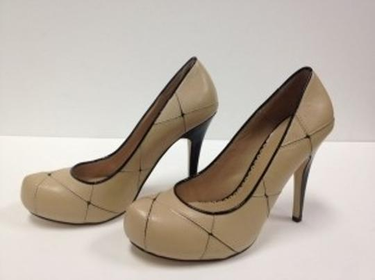 Bakers Nude and Black Pumps
