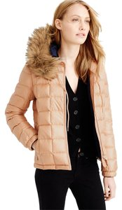 J.Crew Winter Zipper Hood Puffer Coat