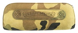 Chrome Hearts New CHROME HEARTS Camoflauge Leather Sunglasses Case